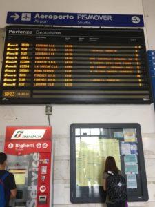 vérification du train, un jour férié