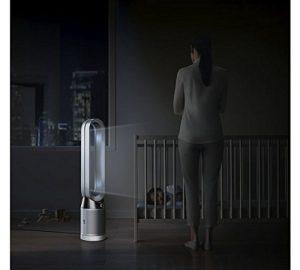 Cliquez sur la photo pour en savoir plus sur le ventilateur sans bruit et ventilateur sans helice : excellentes performances et purification de l'air dans toute la pièce pour les allergies -ventilateur tour dyson purificateur d'air