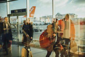 aéroport valise avion soute
