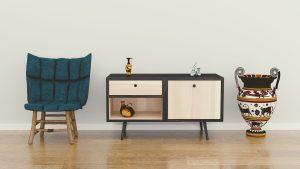 repeindre un meuble en bois vernis