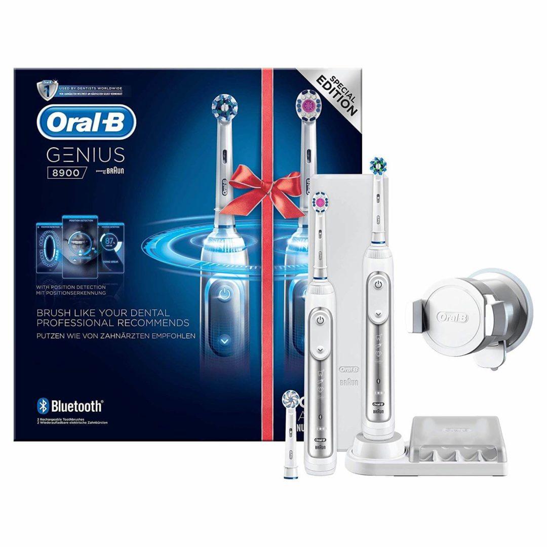 meilleur brosse a dent electrique, la brosse à dent oral b genius