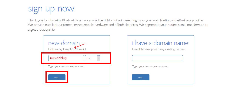 troisièmement, à faire avec les serveurs dédiés bluehost