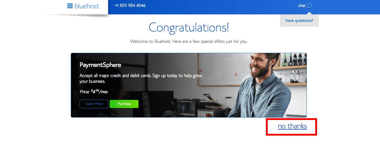 votre nom et votre web hosting
