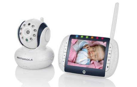 on teste pour vous le visiophone bébé vidéo motorola mbp36sc